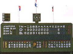 藤井寺最終戦(スコア)