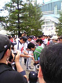 川尻署名活動